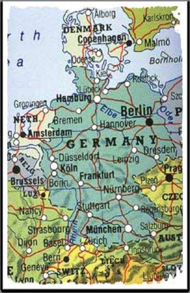 База рефератов: Курсовая работа: Туристичний потенціал Німеччини