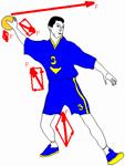 техника выполнения и методика обучения передач и ловли мяча в гандболе